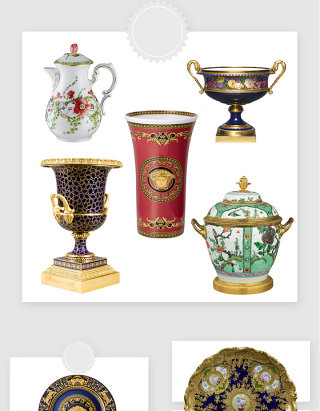 高清免抠古典装饰品