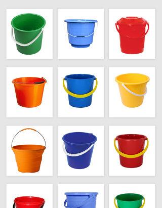高清免抠塑料桶素材