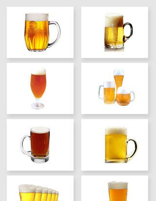 高清质量的啤酒免扣图设计素材