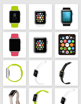 电子产品手表素材