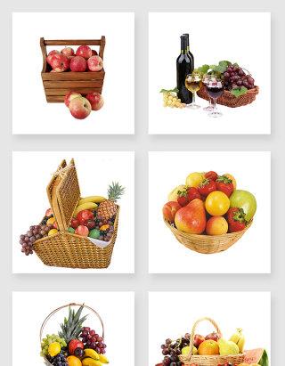各种水果设计元素