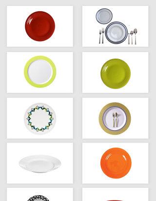 高清免抠餐具盘子素材