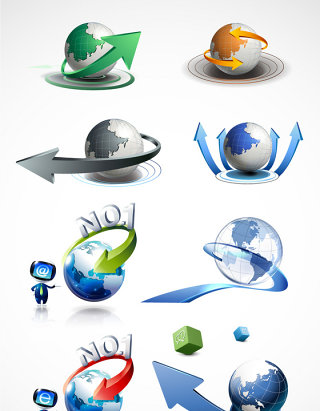 精美创意地球商务素材