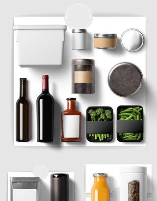 酒水酒瓶饮料设计素材