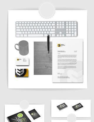 品牌电子产品设计样机素材