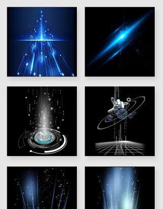互联网科技特效蓝光高清素材