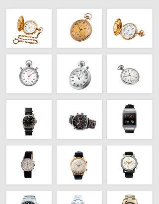 高清免抠手表怀表素材