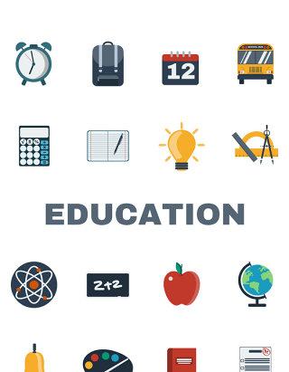 education教育矢量图