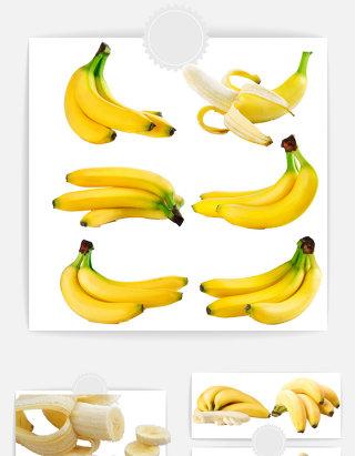 香蕉水果特价促销海报 下载