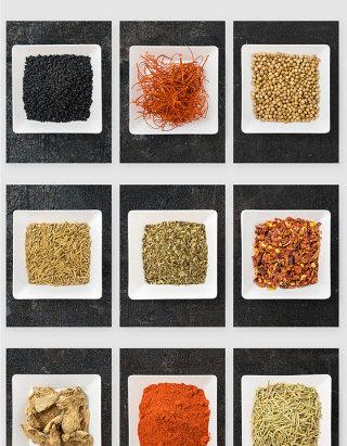 厨房调料盘佐料调味品PSD素材