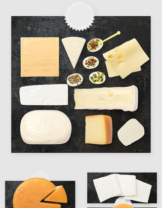 烘焙面包制作面粉PSD素材