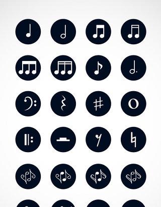 线性音乐图标