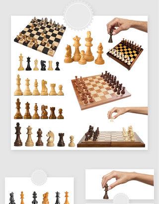高清免抠国际象棋素材