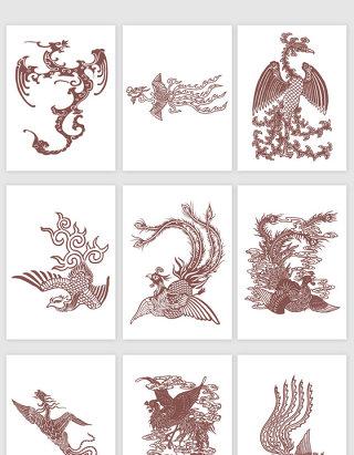 中国古典凤凰图腾