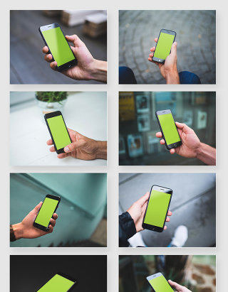 苹果iPhone手机使用场景样机素材