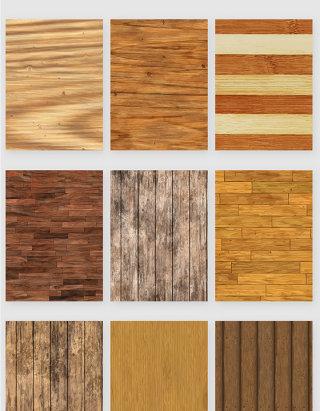 做旧木纹材质纹路纹理矢量元素