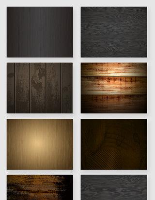 深色木纹材质纹理纹路矢量素材