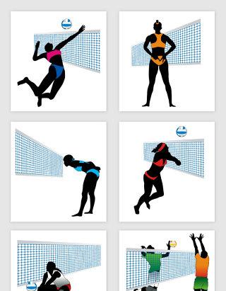 健康运动打网球活动