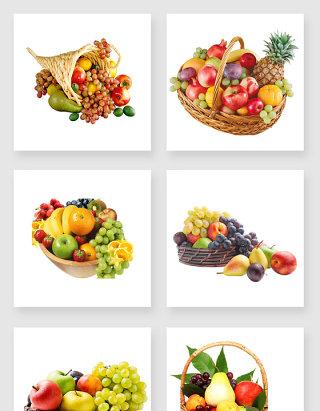 各种水果设计素材
