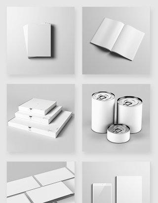 产品包装设计空白模版样机psd素材