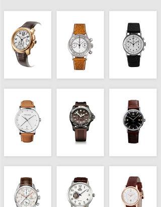 高清免抠高档皮手表腕表素材