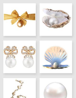 华丽的珍珠设计素材