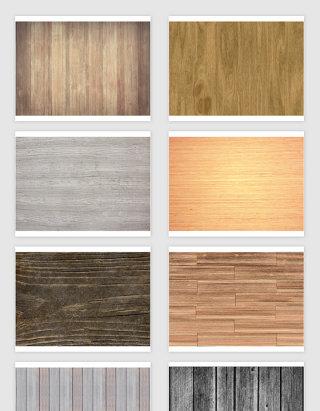 矢量高清木纹木板底纹
