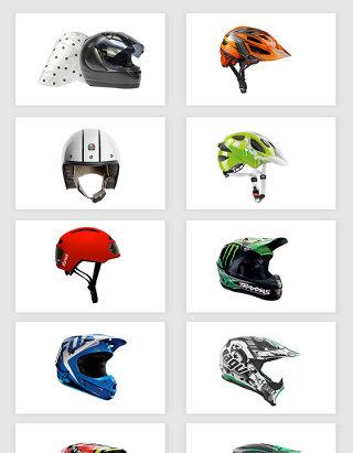 高清免抠摩托车头盔png素材