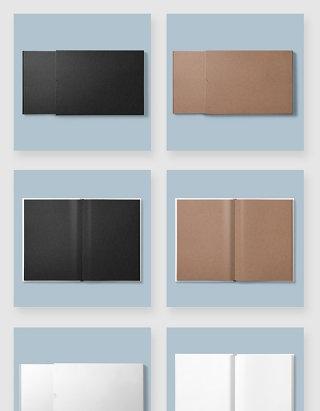 画册设计空白模板智能贴图样机素材