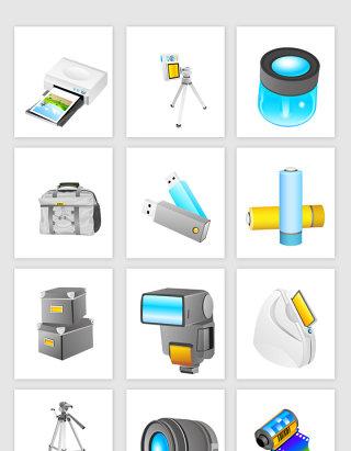 各种电子产品矢量图形