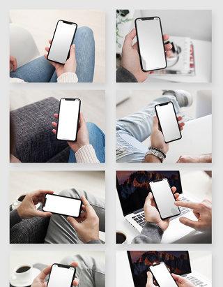 苹果iPhone X智能手机应用场景样机