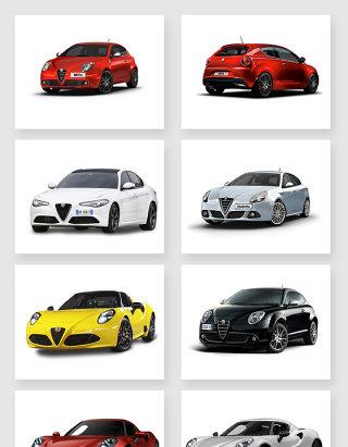 炫酷的超级汽车集合设计素材