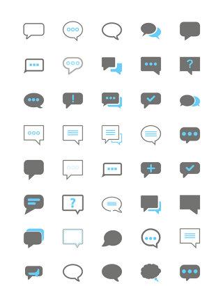 UI对话框矢量图标