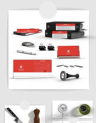 产品设计办公文具用品设计素材