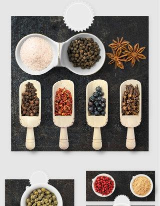 厨房配菜佐料调料品高清PSD素材