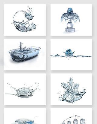高清创意水形图形