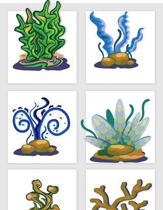 创意海藻元素设计