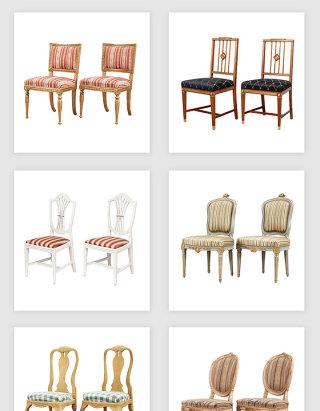 高清免抠欧式高档座椅椅子