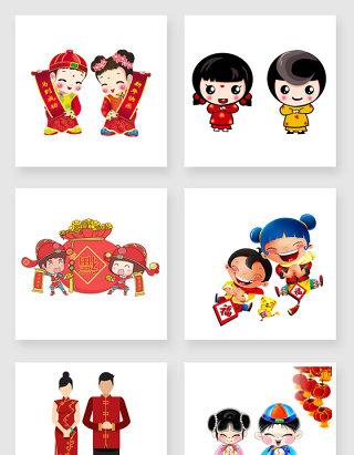 中国风春节矢量素材