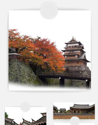 中国风古建筑元素