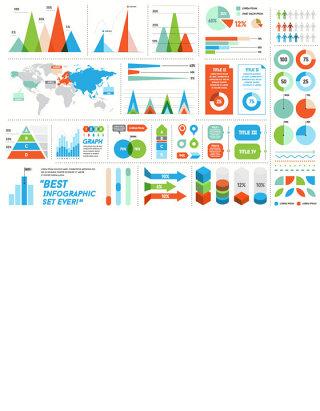 精美商务信息图表矢量素材 (2)