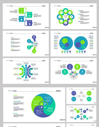 2017创意PPT图形图表矢量设计