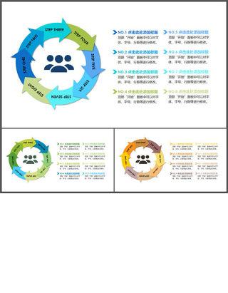 流程图-关系图表-清新简约 (1)