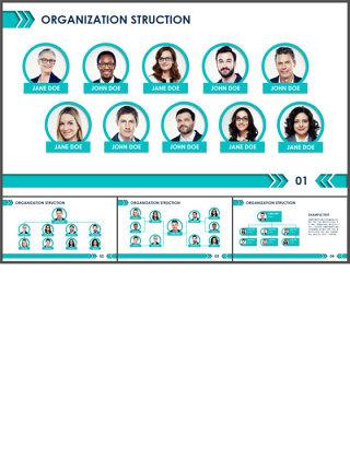 组织架构图ppt图表
