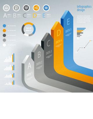 商务图表图片