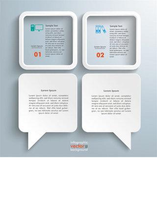 立体对话框标签图片