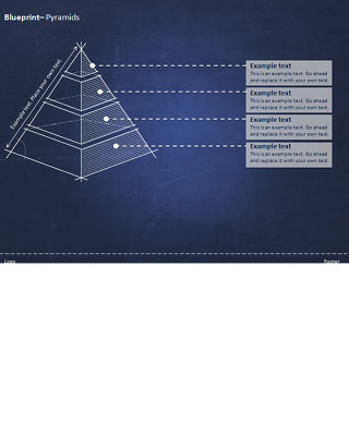 金字塔ppt图表模板