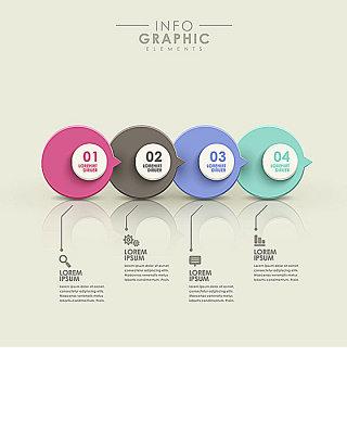 圆形对话框图表