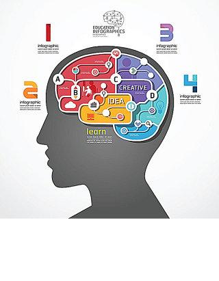 大脑思维图表