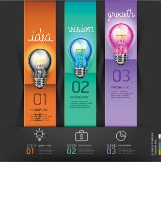 创意商务信息图表设计矢量素材